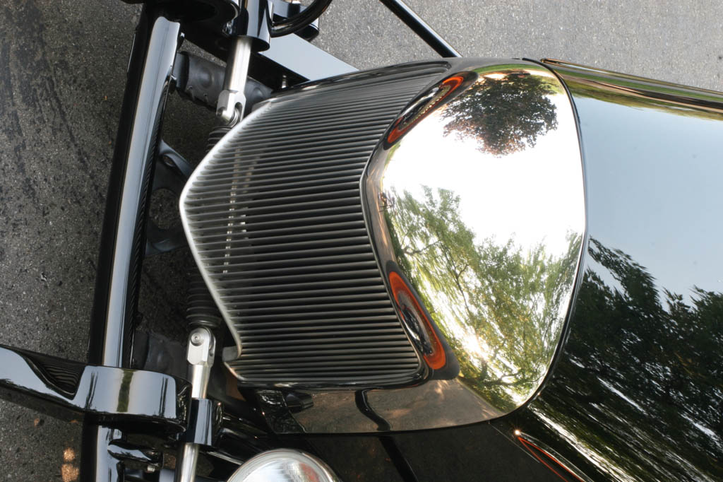 wedge grille shell